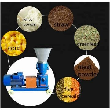 Homemade and automatic poultry feed pellet making machine