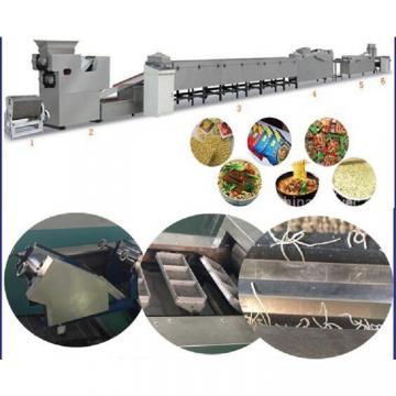 Fried instant noodle making machine , industrial pasta extruder  machine