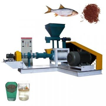 High Output Industrial Twin-Screw Fish Feed Extruder