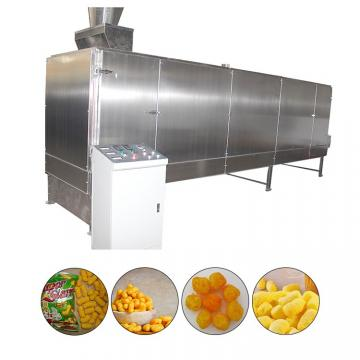 Puffed Corn Rice Snack Food Making Extruder Processing Machine