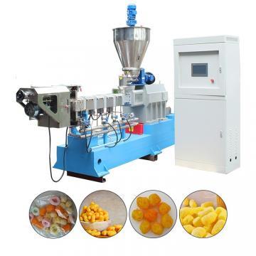Small scale corn puff snack extruder puffed corn snacks making machine