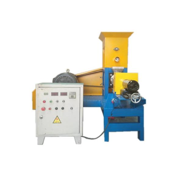 Stainless Steel Automatic Pet Food Extruder Machine / Dry Pet Food Machine #1 image