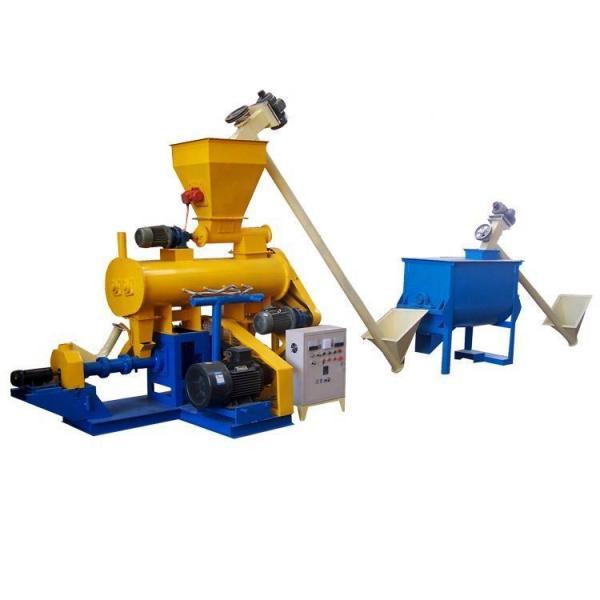 Animal feed floating fish feed pellet machine/fish feed extruder #1 image